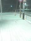 2006年1月6日雪つもる様子